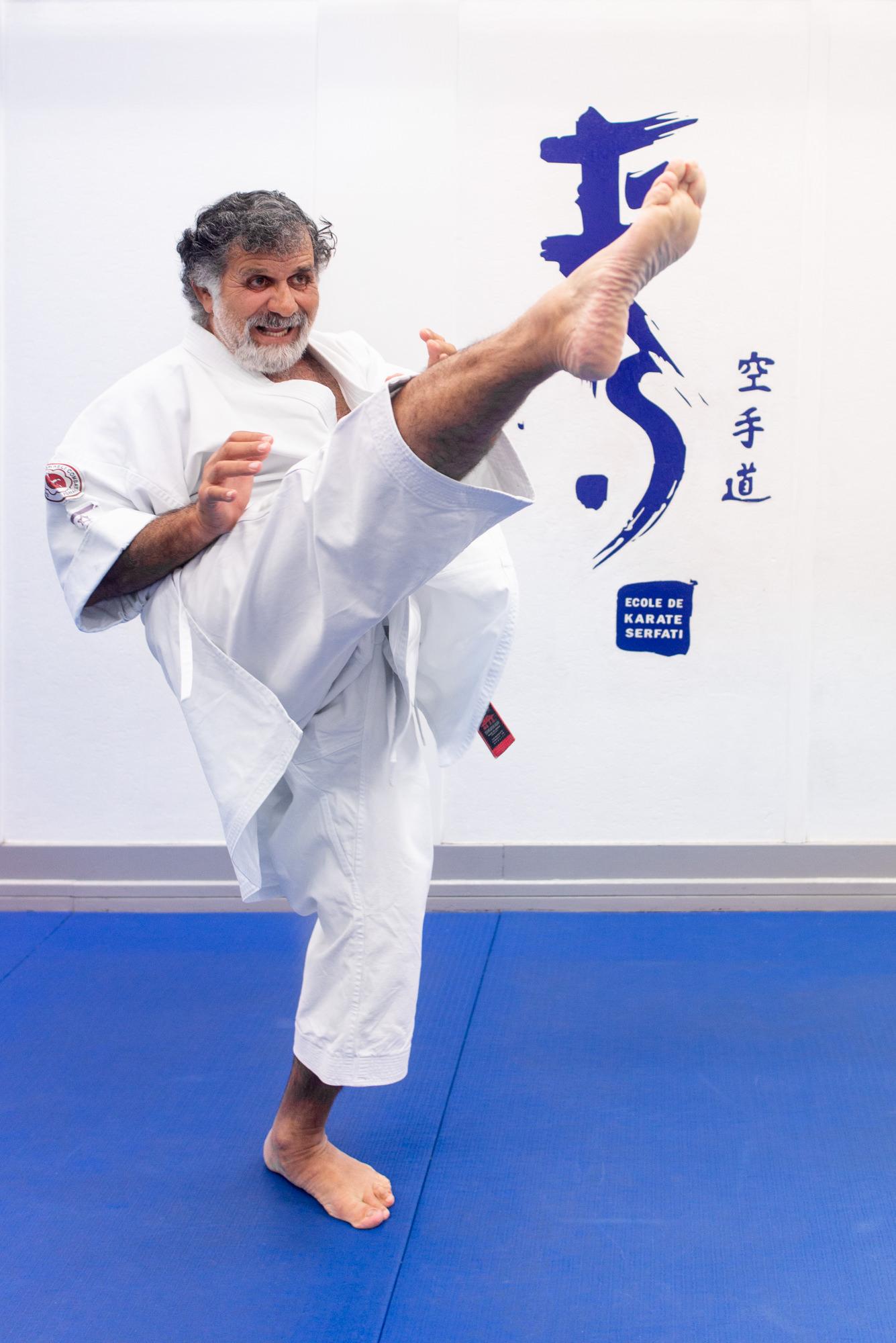 Jacques Serfati Shogun Center Karaté